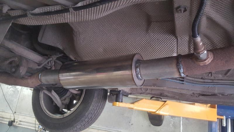 Удаление катализатора: замена и ремонт в автосервисе SVS